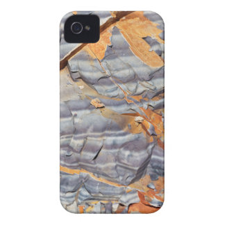 Natural layers of agate in a sandstone iPhone 4 cover