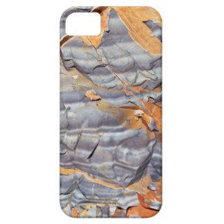Natural layers of agate in a sandstone iPhone 5 cases