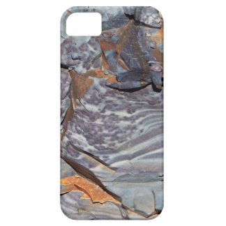 Natural layers of agate in a sandstone iPhone 5 cover