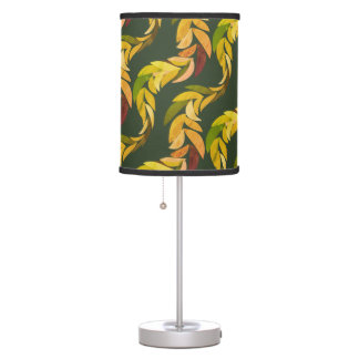 Natural Leaf Vine Table Lamp