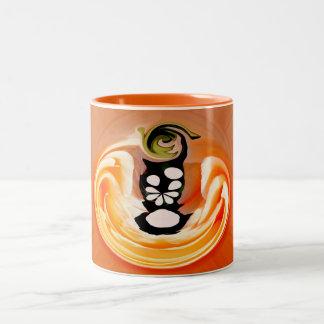 Natural light and shade Two-Tone mug