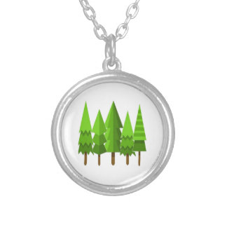NATURAL LOVE SILVER PLATED NECKLACE