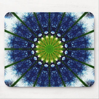 Natural Mandala Art Mouse Pad