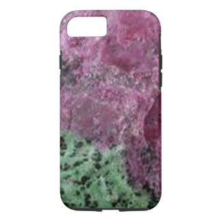 natural mineral bright purple green iphone7 case