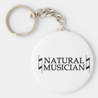 Natural Musician Keychain