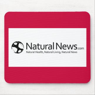 Natural News Mouse Pad