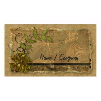 Natural Nostalgia Pack Of Standard Business Cards