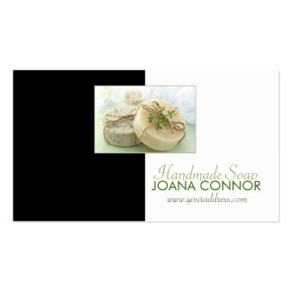Natural Organic Handmade Soap Production Card Business Card