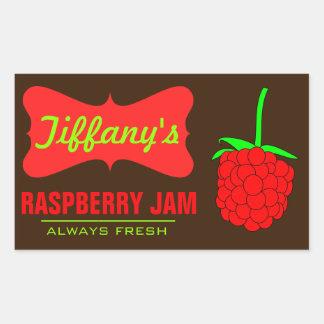 Natural Organic | Raspberry Jam | Handmade Jams Sticker