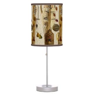 Natural Organic Table Lamp