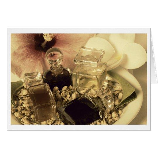 Natural Perfume Oils Photo Notecard