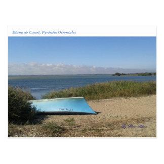 Natural postcard of landscape