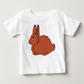 Natural Red Arctic Hare Baby T-Shirt