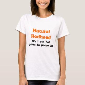 Natural Redhead T-Shirt