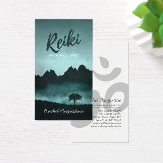 Natural Reiki Master and Yoga Mediation instructor Business Card