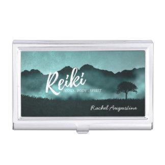 Natural Reiki Master and Yoga Mediation instructor Business Card Holder