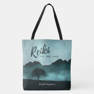 Natural Reiki Master and Yoga Mediation instructor Tote Bag