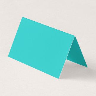 Natural Robin's Egg Blue Colour Business Card