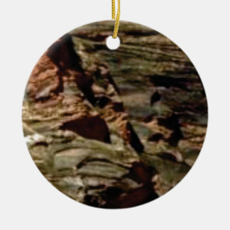 natural rock colors ceramic ornament