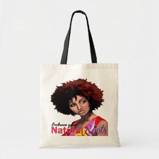 """Natural Roots"" Tote Bag"