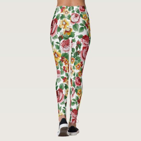 natural rose leggings