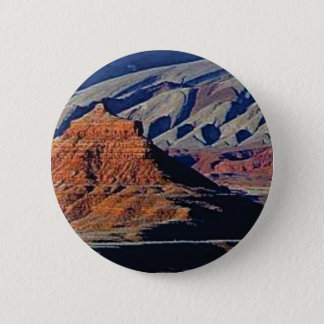 natural shapes of the desert 2 inch round button