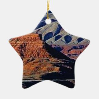 natural shapes of the desert ceramic ornament