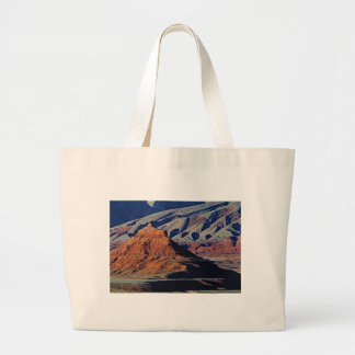 natural shapes of the desert large tote bag