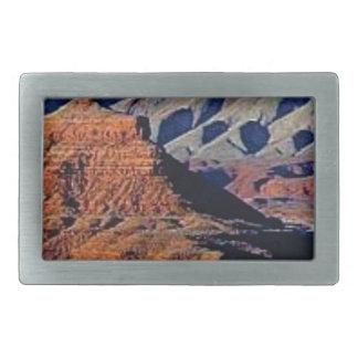 natural shapes of the desert rectangular belt buckle