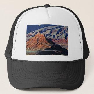 natural shapes of the desert trucker hat