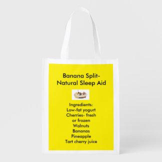 Natural Sleep Aid Reusable Bags Grocery Bag