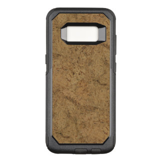 Natural Smoke Cork Bark Wood Grain Look OtterBox Commuter Samsung Galaxy S8 Case