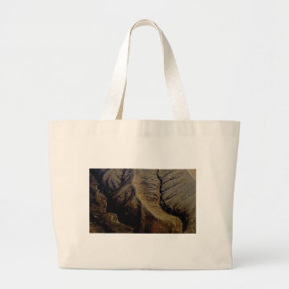 natural stitches large tote bag