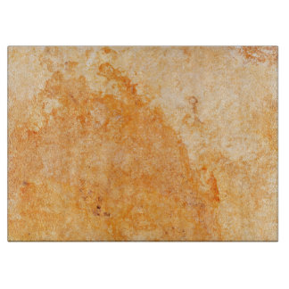 Natural Stone Pattern Glass Cutting Board