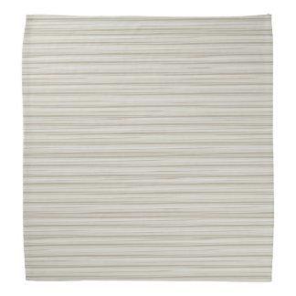 Natural stripes bandana