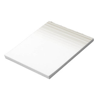 Natural stripes notepad