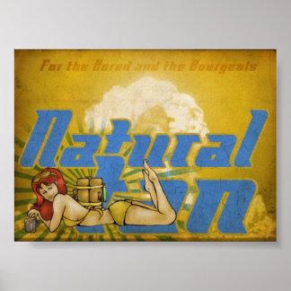 Natural Tan Poster