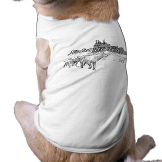 Natural Telepathy Wolf Pack Dog T-shirt