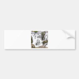Natural water flows bumper sticker