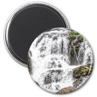 Natural water flows magnet
