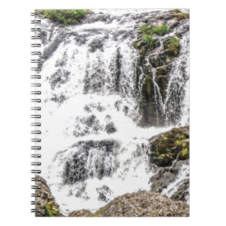 Natural water flows notebook