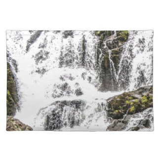 Natural water flows placemat