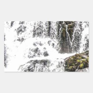Natural water flows sticker