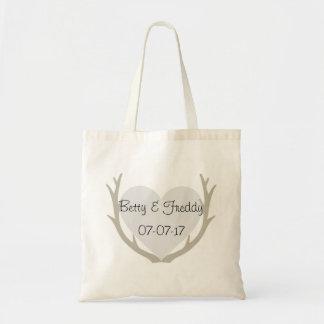 Natural Wedding Tote Bag