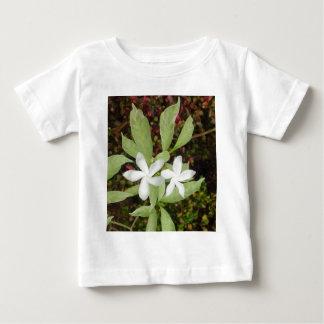 Natural White Beautiful Flower Baby T-Shirt