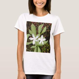 Natural White Beautiful Flower T-Shirt