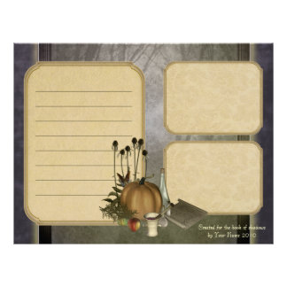 Natural Witch Keepsake Paper Personalized Letterhead