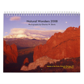 Natural Wonders 2008 - Customized Calendar