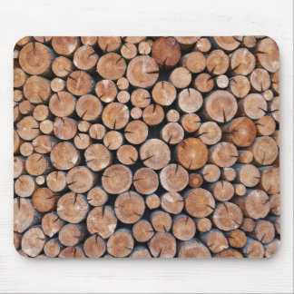 natural wood texture mousepad