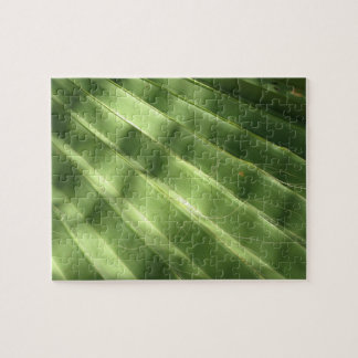 Naturally Cool Surfaces_Fluted Frond Jigsaw Puzzle